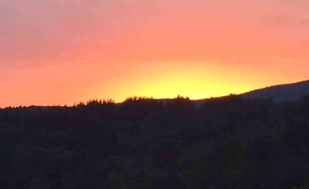Wilmington Vt sunsets Green Mountains