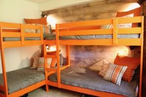 Basecamp condo bunk room